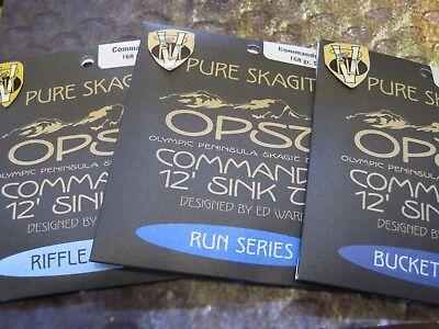 RUN S5//6 132 GRAIN NEW! OPST COMMANDO SINK TIPS 12 FEET