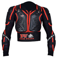 Body Armour Motorcycle Motorbike Motocross spine Protector Guard Jacket Adult.#