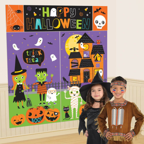 Halloween Amis Décoration Murale Kit