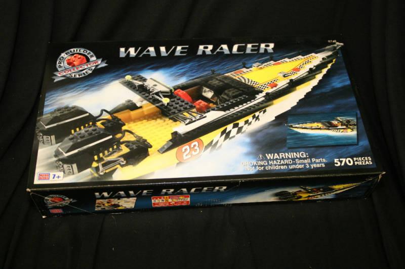 Mega - bloks pro builder welle racer   9748 570 stück collectors edition brandneu