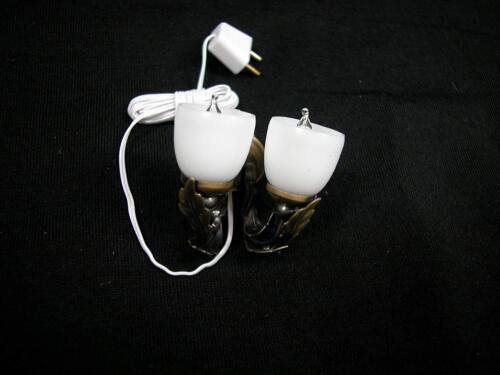 Heidi Ott Dollhouse Miniature Light 1:12 Scale Modern Double Wall Lamp #YL2077