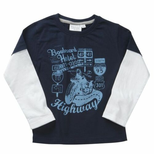 4-5 /& 5-6 years 3-4 Boys Printed Long Sleeve T shirt Ages 2-3