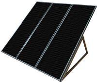 Coleman Sunforce 58050 55 Watt 12v Solar Power Back Up Generating Generator Kit
