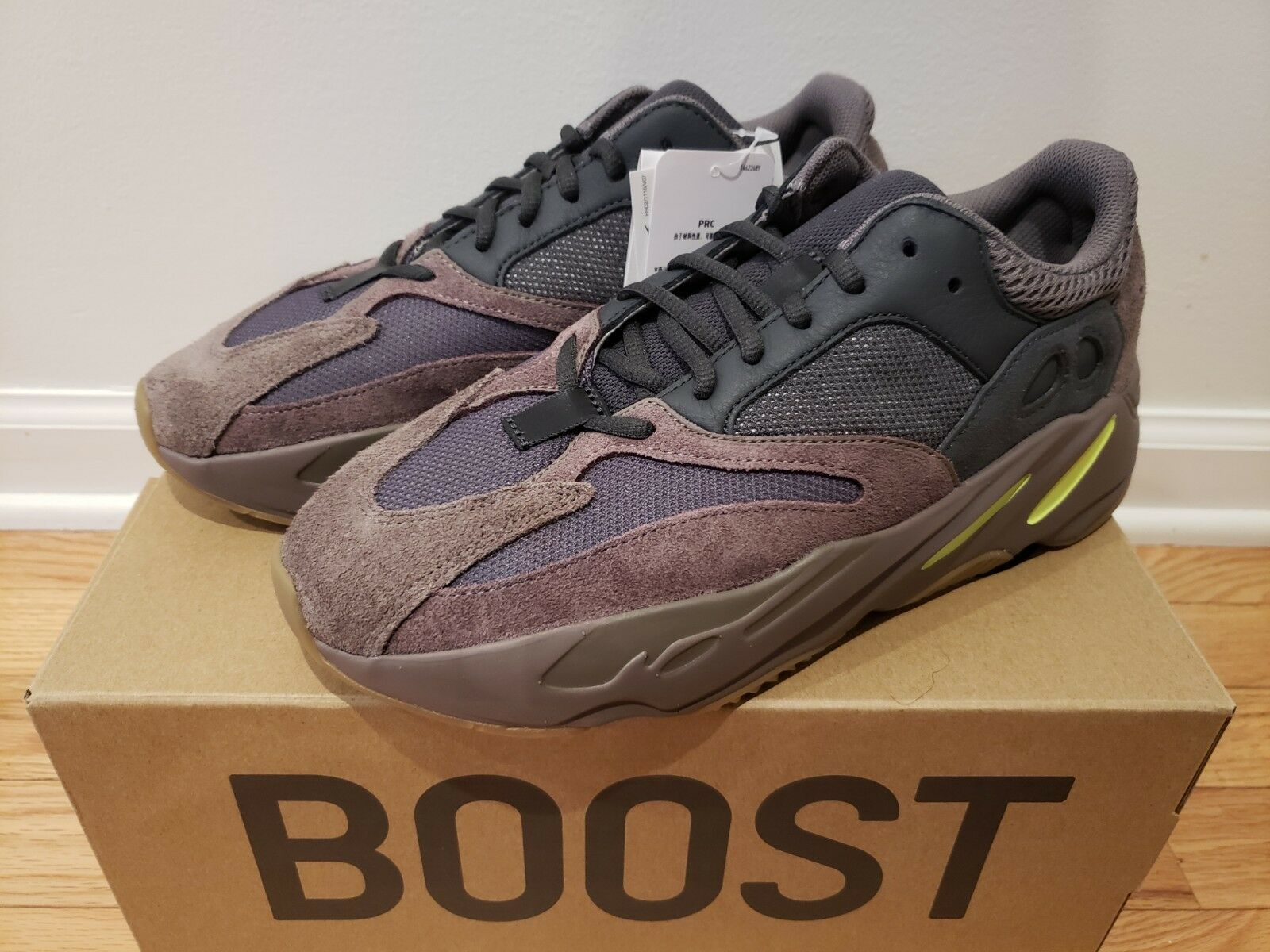 Adidas Yeezy Boost 700 'Mauve' Mens Sneakers ‑ Size 9.5