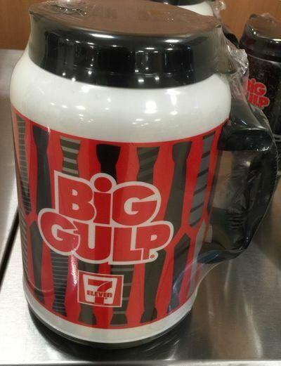 7-11 7 Eleven Big Gulp Whirley 100 oz Insulated Cup Mug Necktie Edition 2015