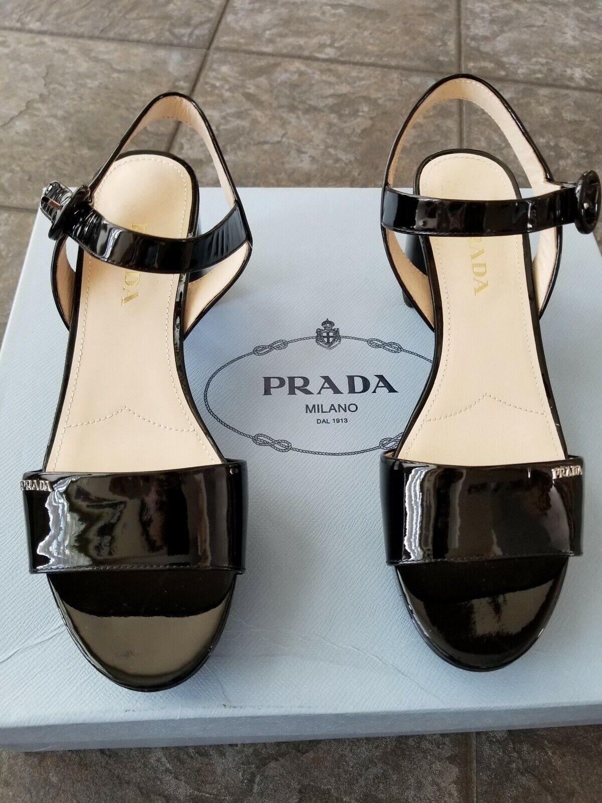 Prada Sandalias De Plataforma Plataforma Plataforma Talla 11  compras en linea