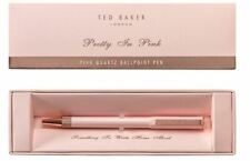 BNWT Ted baker /'Bowtiful' Rose Gold Bow Top Ballpoint Pen