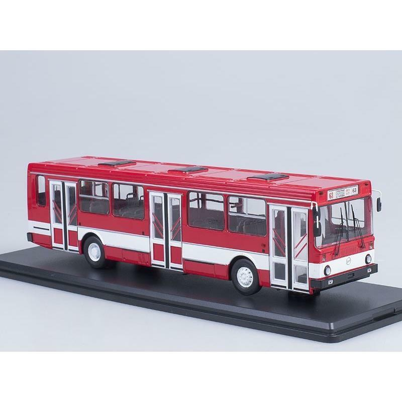 SSM LIAZ-5256 City Bus (red white) white) white) SSM-4021 b46bf6