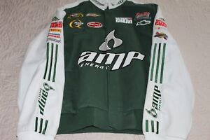 DALE-EARNHARDT-JR-AMP-ENERGY-DRINK-COTTON-TWILL-JACKET-CHASE-AUTHENTICS-NASCAR