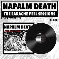 "Napalm Death ""The Earache Peel Sessions"" LP vinile nero - All 3 peel Sessions"