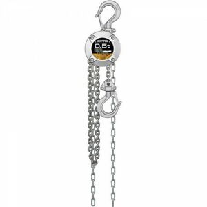 Chain Hoist Lifting Chain Hoist 500kg With 2.5/Metre Long Alloy Steel Hook with Safety Latch