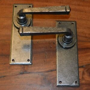 Image Is Loading Victorian Cottage Style Wrought Iron Door Handles No