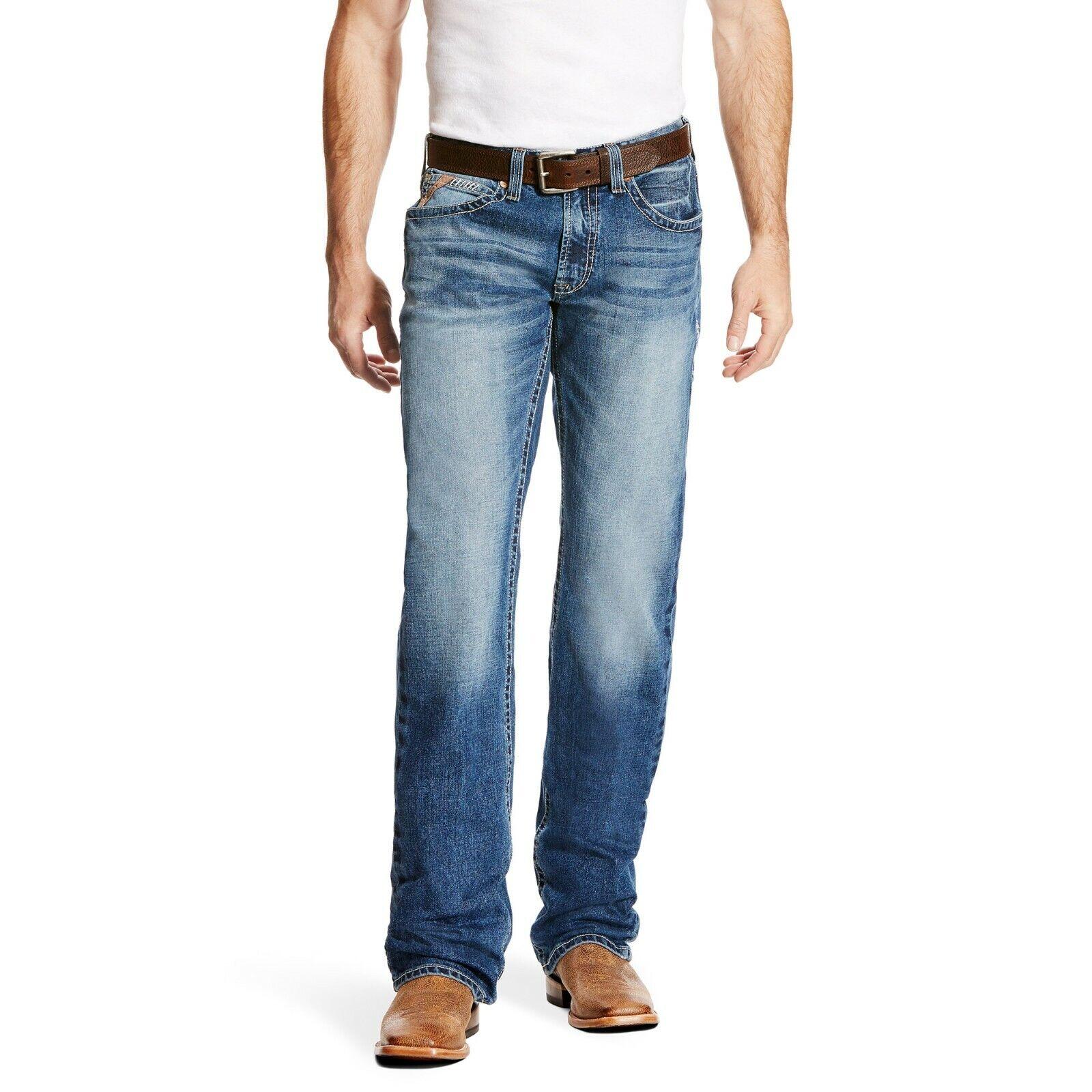 Ariat ® para hombre M5 Stillwell Fargo Delgado pierna  recta Jeans 10021879  en stock