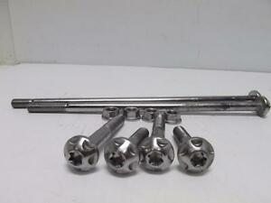 TRIUMPH-DAYTONA-675-ABS-OEM-06-17-ENGINE-MOTOR-MOUNTS-SUPPORTS-T3332503