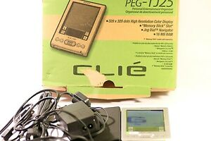Sony-CLIE-PEG-TJ25-PDA-Box-amp-Manual