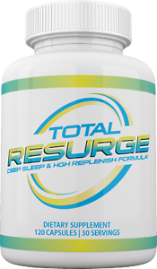 RESURGE Deep Sleep & HiGH Support Formula TOTAL RESURGE 120 cap Rejuvenate FAST