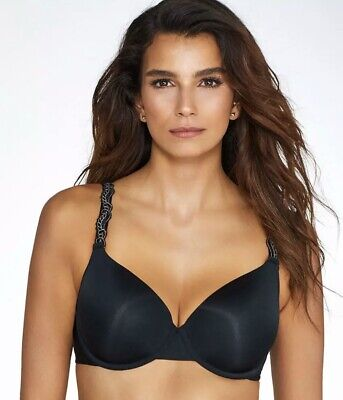 Details about  /Paramour by Felina Lissa Contour T-Shirt Bra ~ 34DDD ~Black~ NEW ~135035