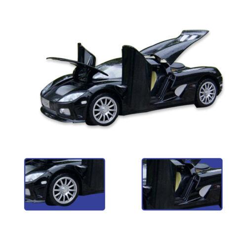 1:32  Koenigsegg Model Light/&Sound Collection Toy Diecast Sport Car Gift Black