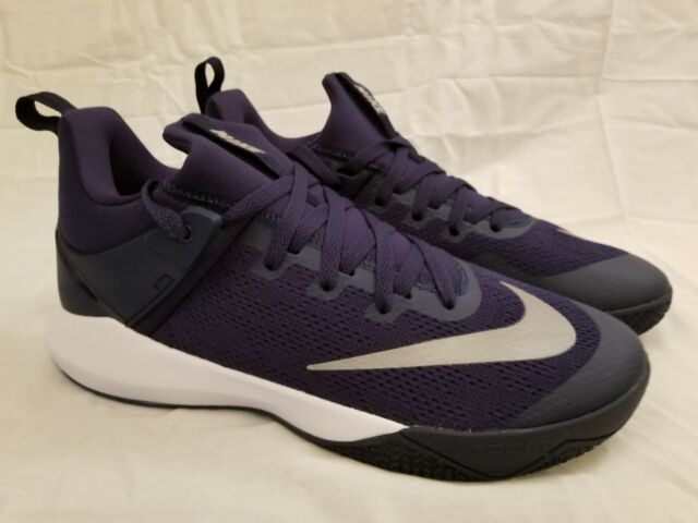 12b13f9b0cc3 Nike Zoom Shift TB Midnight Navy White 897811-401 Shoes Mens Size 11 for  sale online