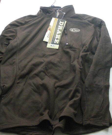 Drake Ave Acuática 2040BRN-2XL Marrón MST Breathlite Quarter-Zip Camisa Chaqueta   bajo precio