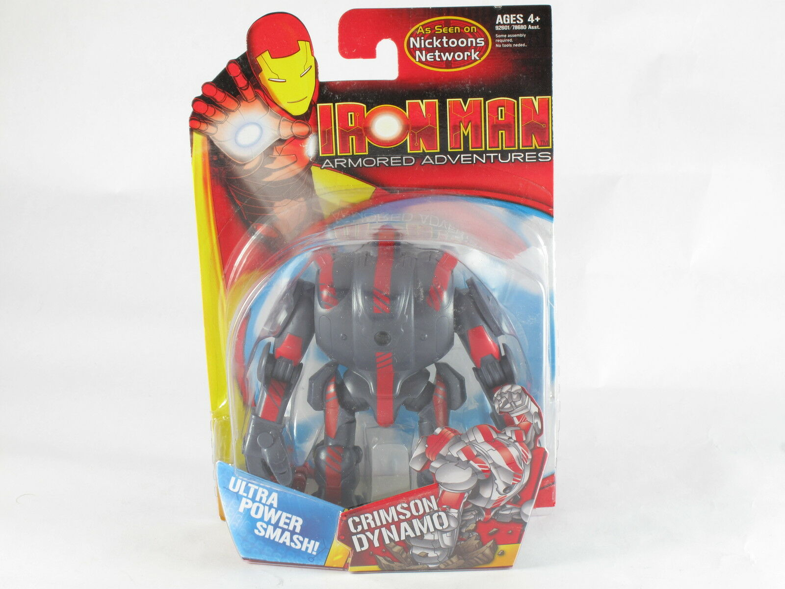 Marvel Animated Crimson Dynamo Iron Man ArmoROT Adventures Figure MOSC New