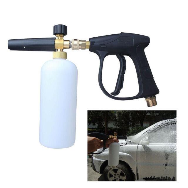 Snow Foam Lance Cannon Bottle High Pressure Washer Gun Car Wash Water Clean Jet