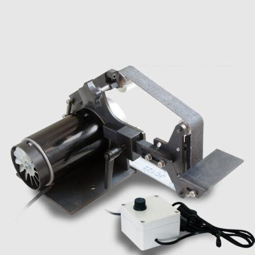 New 220V Mini Belt Sander Bench Grinder DIY Polishing Grinding Machine 7500RPM