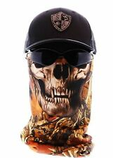SA CO Salt Armour SA SNOW CAMO SKULL  Face Shield Sun Mask Balaclava  **USA**