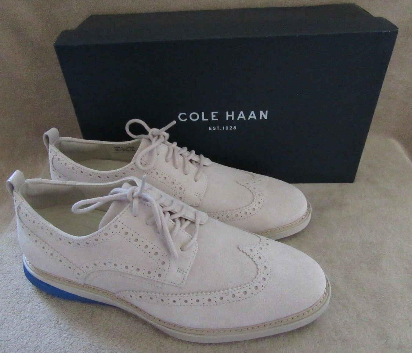 COLE HAAN C26311 Uomo Grand Evolution Pelle Lace Up  Shoes   10.5 NWB