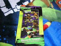 Teenage Mutant Ninja Turtles Plush Bath/beach Towel