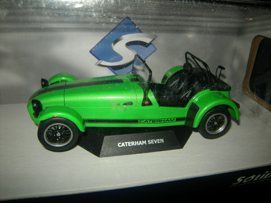 1 18 Solido Caterham Seven 275 green green Nr. S1801801 in OVP