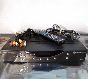Motorola-Shaw-DCT2524-1631-AL-CATV-Converter-with-Remote-Control