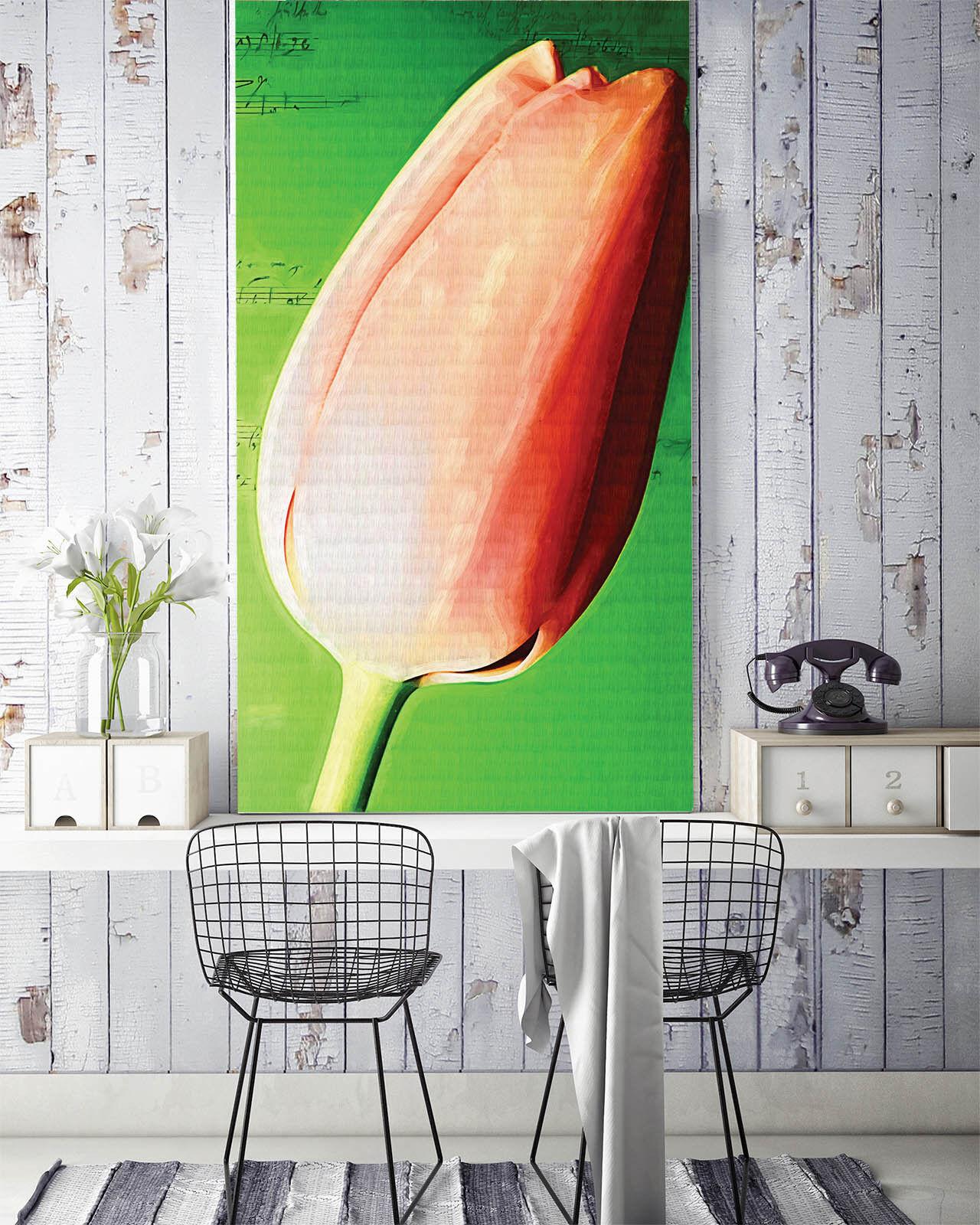 3D Tulip bud 139339 Fototapeten Wandbild Fototapete BildTapete Familie DE