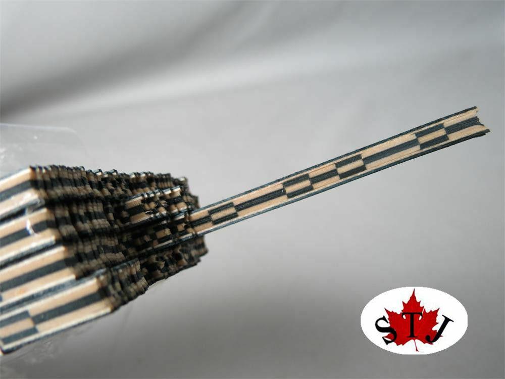 50 Tiras Luthier Labrado vinculante XL-60, mide 6mm de x1.2mm x1.2mm x1.2mm de espesor y 640mm de largo  hasta un 65% de descuento