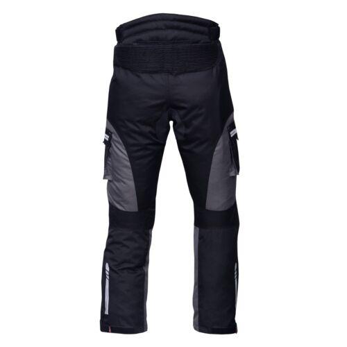 Motorbike Motorcycle Waterproof Cordura Textile Trousers Pants Armours Reflector