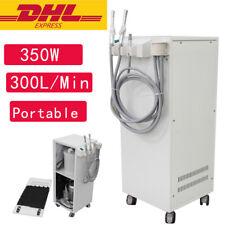 New Listing350w Portable Dental Vacuum Suction Unit High Vacuum Pump Unit 300lmin Machine