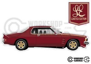 New-Collectable-Holden-Monaro-HX-Limited-Edition-LE-MEGA-SIZE-Side-View
