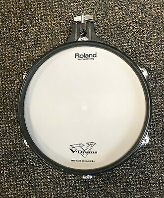 "Roland pd-100 v drum tom pd100 10/"" Mesh vdrum PURPLE"