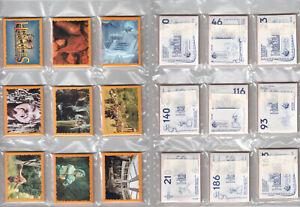 1996 Panini Hercules Complete Set 232 Stickers