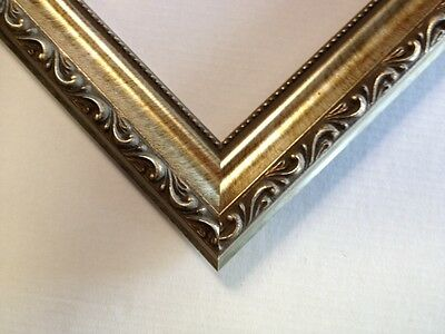 Larson-Juhl Silver Ornate Solid Wood Pictures Frames-Standard Sies