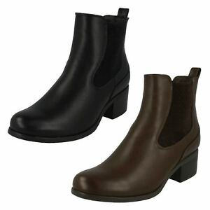 Down To Earth , Damen Chelsea Boots , schwarz - schwarz - Größe: 40