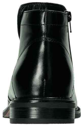 Klondike Stiefel Leder Schuhe Reißverschluss schwarz MH-088H02 40-46 Neu31