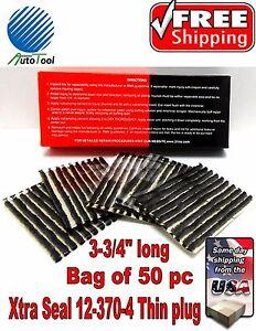 50-Xtra-Seal-TIRE-PLUG-SEALS-100-SELF-VULCANIZING-TUBELESS-TIRE-REPAIR-12-370-4