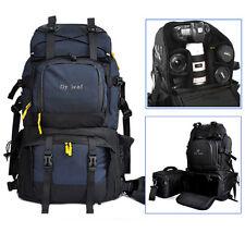 "Professional DSLR Camera Backpack Rucksack 17"" Laptop Bag For Canon Nikon Sony"