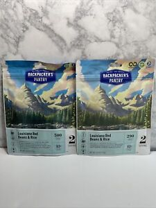 Backpackers Pantry Louisiana Red Beans Rice 2-Serving Freeze Dried Camp Food x2