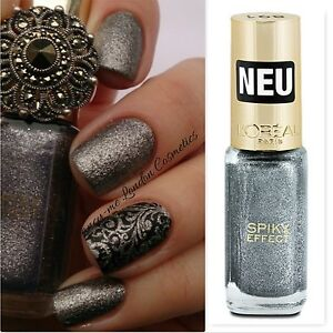 Details about L'Oreal Color Riche Nail Polish 891 NOIR WHISPER NEW + FREE  P&P -SEALED