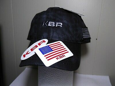 Halliburton Tan Camo Hat $Rare and Sticker Crane Oilfield Construction2 KBR-
