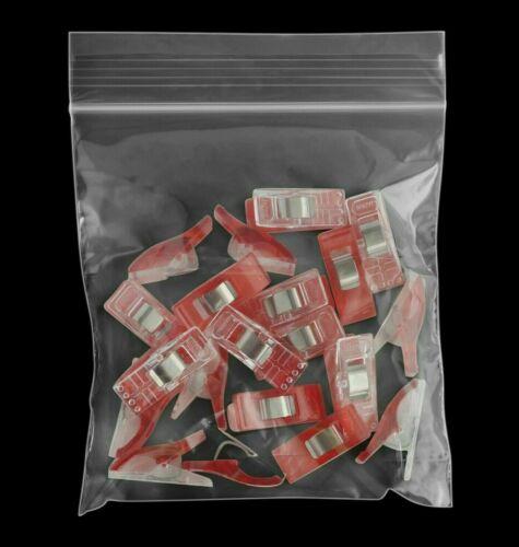4x4 Zip Lock Bag 1000 Clear Reclosable 2 Mil Plastic 2mil Top Seal Nuts Baggies