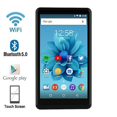 """WiFi MP3/MP4 Player 4.0"""" Touchscreen Android with Google ..."""