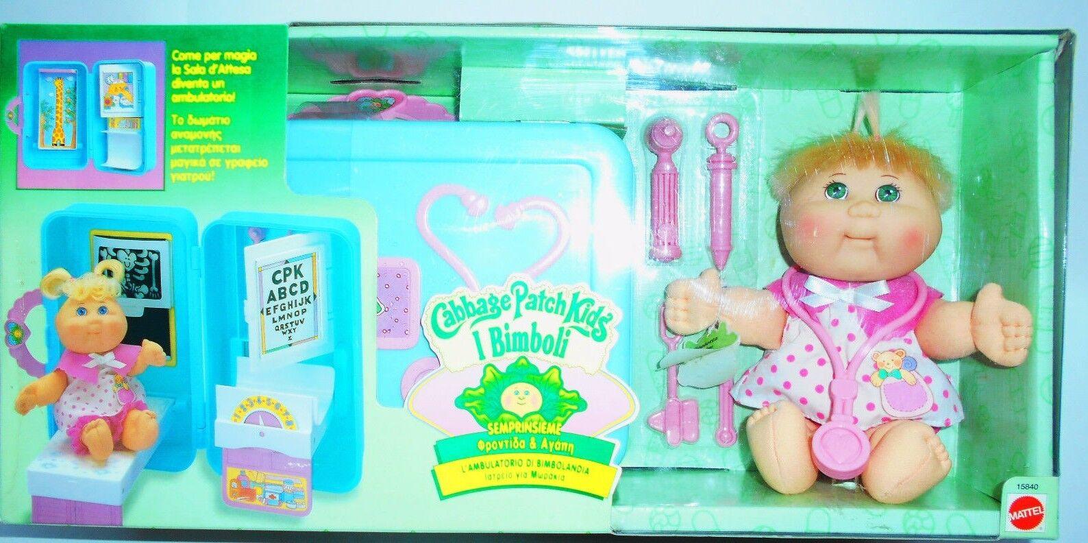 Vintage Chou écusson L'clinique de terre des enfants Playset Mattel 15840